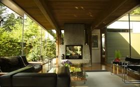 Обои дизайн, дом, стиль, вилла, интерьер, жилое пространство