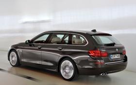 Картинка машина, авто, бмв, BMW, в движении, xDrive, Touring