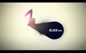 Обои Минимализм, Minimal, Black cord