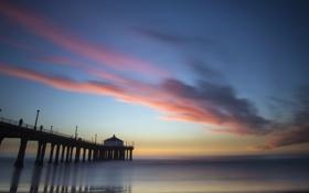 Обои Los Angeles, Manhattan Beach, Pier