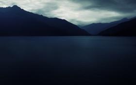 Обои море, горы, пейзажи, deep blue