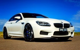 Обои бмв, BMW, Coupe, AU-spec, F13, 2015