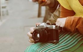 Обои камера, фотоаппарат, объектив, fugica