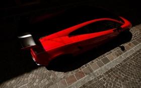 Обои красный, Lamborghini, суперкар, gallardo, ламборджини, LP570-4