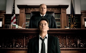 Картинка Robert Downey Jr., books, toga, Robert Duvall, The Judge, tie, drama