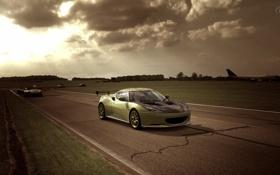 Обои гонка, Top Gear, GT5, Test Track, Lotus Evora