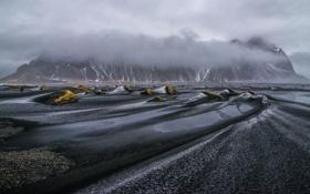 Обои природа, Iceland, Vestrahorn