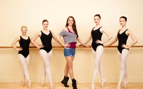Обои сериал, Julia Goldani Telles, Балерины, Bunheads, Sutton Foster, Bailey De Young, Emma Dumont