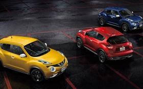 Обои Nissan, ниссан, джук, Juke, JP-spec, 2014, YF15
