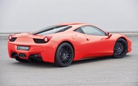 Картинка car, Ferrari, red, Hamann, 458, tuning, Italia