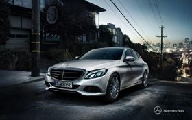Картинка Mercedes-Benz, седан, мерседес, Sedan, 2014, C-class, W205