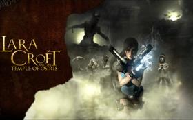 Обои пистолеты, lara croft, tomb raider, Lara Croft and the Temple of Osiris
