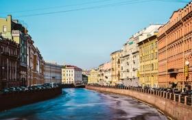 Картинка Весна, Питер, Река, Лед, Мойка, Санкт-Петербург, Russia