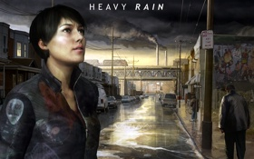 Картинка Heavy Rain, PS3, DLC, Madison Paige, Мэдисон Пейдж, Taxidermist