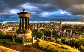 Обои Calton, Edinburgh, Hill