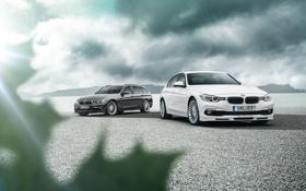 Обои 3 Series, бмв, BMW, F30, 2013, Alpina, F31