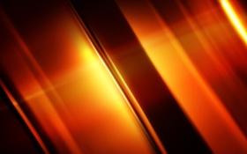 Обои свет, линии, Оранжевые