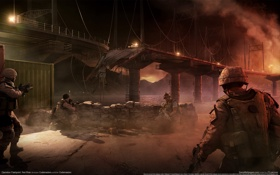 Обои wallpaper, red, river, operation, flashpoint