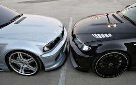 Обои круто, BMW, два