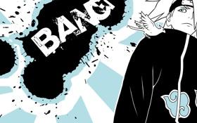 Картинка взрыв, Deidara, Bang