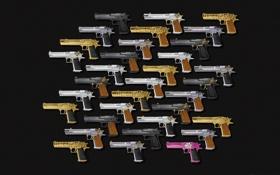 Обои Пистолет, Desert Eagle, Пустынный Орел