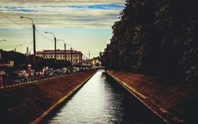 Обои Питер, Река, Канал, Мойка, Санкт-Петербург, Россия, Russia