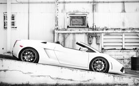 Обои cars, гораж, Auto, Lamborghini Gallardo
