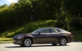 Обои фото, Infiniti, автомобиль, 2015 Q70 Hybrid
