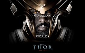 Обои актер, 2011, Тор, Idris Elba, THOR, хранитель мира, Хаймдалл