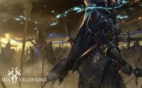 Картинка оружие, кровь, меч, аниме, арт, битва, стрелы