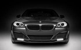 Картинка черный, фары, тюнинг, бмв, светодиоды, BMW, карбон