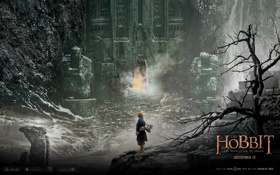 Картинка хоббит, вход, hobbit: the desolation of smaug, хоббит: пустошь смауга