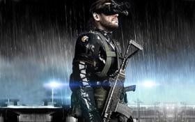 Картинка Solid Snake, Metal Gear Solid, big boss, Ground Zeroes, naked snake, The Phantom Pain, kojima ...