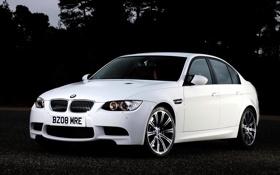 Картинка машина, тачка, BMW M3, асфальт