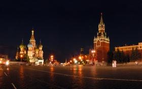 Обои город, города, Москва, Кремль, Красная площадь