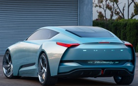 Обои Buick, Riviera, вид сзади, концепт, Concept, бьюик
