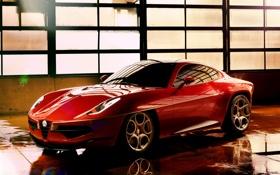 Обои машина, Concept, концепт, красивый, Touring, Disco Volante, SuperLeggera