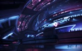 "Картинка бар, Цитадель, Mass Effect 3, Ночной клуб, ""чистилище"""