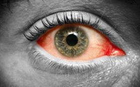 Картинка red, eyes, gray, tired
