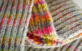 Обои макро, цвет, шарф