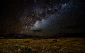 Обои звезды, космос, ландшафт, млечный путь, ночь, пространство
