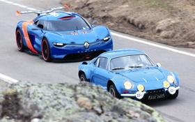 Картинка Concept, Renault, 2012, автомобили, рено, Alpine, A110-50