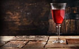 Картинка камни, вино, красное, бокал, бочка
