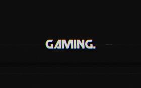 Обои фон, искажение, Gaming