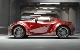 Обои купе, концепт, Спорт кар