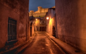 Обои France, Carcassonne, Languedoc-Roussillon