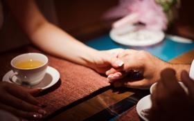 Картинка Любовь, Свидание, чашка чая