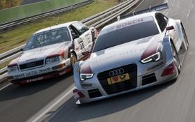 Картинка Audi, ауди, скорость, Coupe, передок, and, DTM
