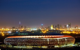 Картинка африка, стадион, южная