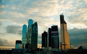 Обои Москва Сити, город, city, Moscow